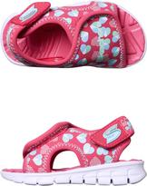 Skechers Synergize Splash N Dash Tots Shoe Pink