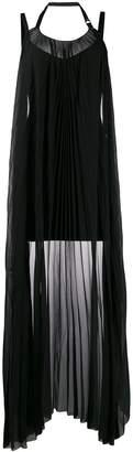 Diesel Black Gold draped-panel mini dress