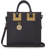 Sophie Hulme Albion square leather cross-body bag
