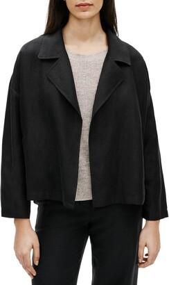 Eileen Fisher Drape Front Jacket