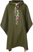 Mira Mikati embroidered oversized poncho