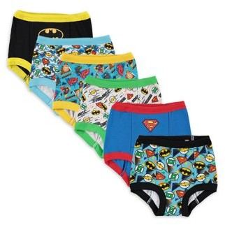 Justice League Toddler Boys Training Pants, 12-Pack