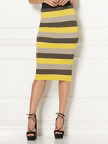 New York & Co. Eva Mendes Collection - Filipa Stripe Sweater Pencil Skirt