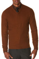 Perry Ellis Regular-Fit Long Sleeve Pullover