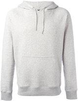 Ron Dorff - Eyelet Edition hoodie - men - Cotton/Spandex/Elastane - S