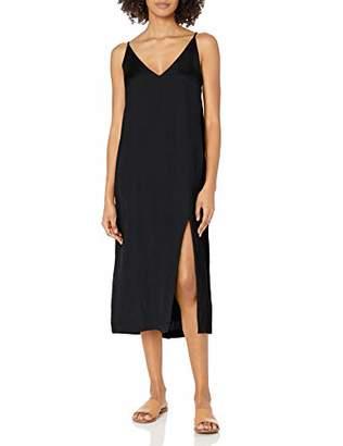 Seafolly Women's Linen Blend Slip Dress Swimwear Cover Up