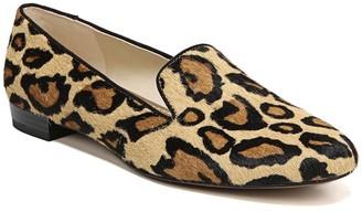 Sam Edelman Jordy Genuine Calf Hair Leopard Print Loafer