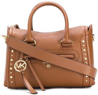 MICHAEL Michael Kors Carina studded satchel