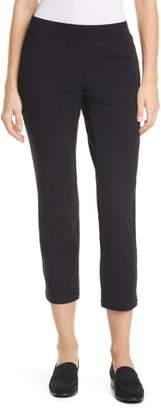 Eileen Fisher Zip Hem Slim Ankle Pants