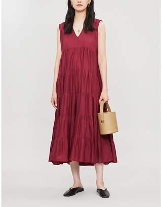 Merlette New York Santa Elena A-line cotton midi dress