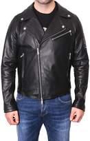 Alessandro Dell'Acqua Biker Leather Jacket