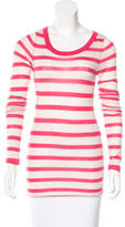 Enza Costa Cashmere Striped Top