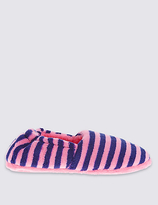 Marks and Spencer Kids' Striped Slippers