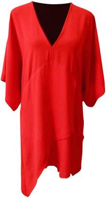 IRO Red Synthetic Dresses