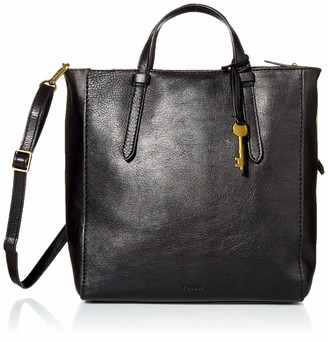 Fossil Women's Camilla Leather Convertible Small Backpack Handbag