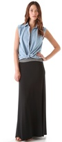 LnA Column Long Skirt