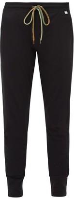Paul Smith Cotton Straight-leg Track Pants - Mens - Black
