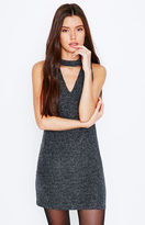 KENDALL + KYLIE Kendall & Kylie Shimmery Cutout Mini Dress