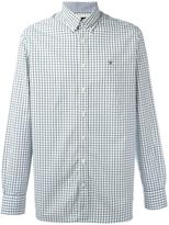 Hackett plaid button-down shirt