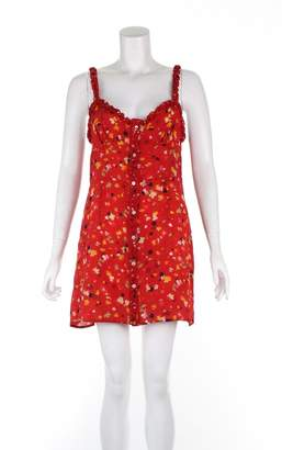 Réalisation Realisation Red Silk Dresses
