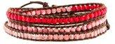 Chan Luu Leather Wrap Bracelet