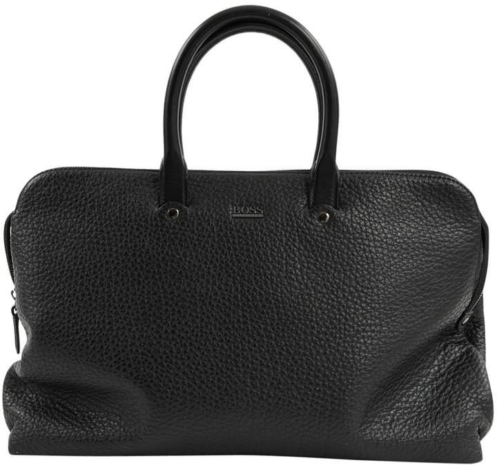 49774af7e7 Mens Boss Leather Bag - ShopStyle UK
