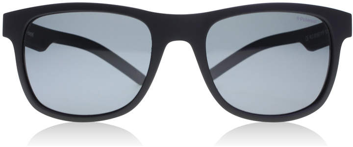 Polaroid 6015/S Sunglasses Black Rubber YYV Polariserade 50mm