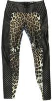 Just Cavalli Leather Skinny Pants w/ Tags