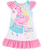 Komar Kids Pink Peppa Pig 'Chasing Rainbows' Nightgown - Toddler