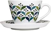 Sagaform Retro Tea Cup And Saucer 12oz