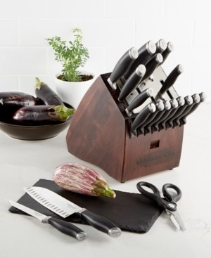 Calphalon Contemporary SharpIN Self Sharpening 20-Piece Cutlery Set