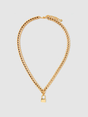 Tess + Tricia Lock Collar Necklace