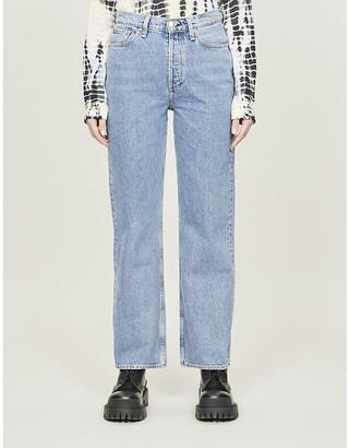 Rag & Bone Ruth straight high-rise jeans