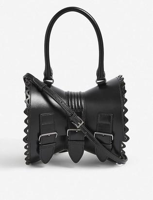 Azzedine Alaia Corset leather shoulder bag