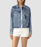 AllSaints Patches Denim Jacket