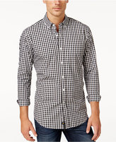 Club Room Men's Gingham Long-Sleeve Shirt, Only at Macy's