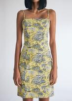 STAUD Women's Marigold Toile Mini Dress, Size 2 | Spandex