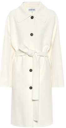 Loewe Wool and cashmere coat