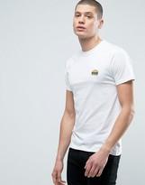 Brave Soul Burger Embroidered T-shirt