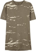 Maharishi Camo Olive Printed Cotton T-shirt