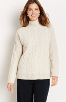 J. Jill Cozy Cable Turtleneck