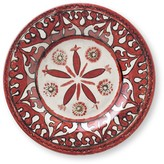 Spanish Tile Melamine Salad Plates, Set of 4