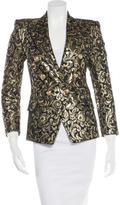 Balmain Metallic Brocade Blazer
