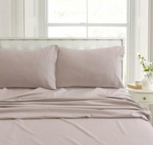 Tribeca Living Heavyweight Flannel Extra Deep Pocket Twin Sheet Set Bedding