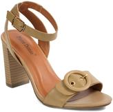 Pierre Dumas Natural Ankle-Strap Nancy Sandal