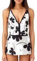 Anne Cole Floral Swim Dress