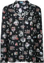 GUILD PRIME sea print pyjama shirt - women - Rayon - 34