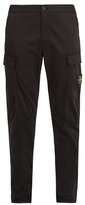 Stone Island Tapered Stretch-poplin Cargo Trousers
