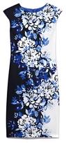 Vince Camuto Floral-print Sheath