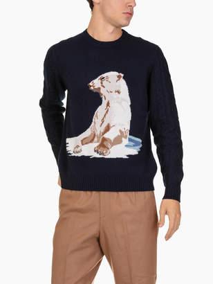 Ballantyne R Neck Pullover Polar Bear